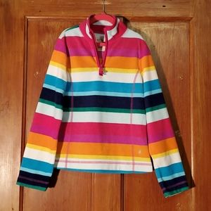 Old Navy Multi-Colored Fleece Pullover Size M